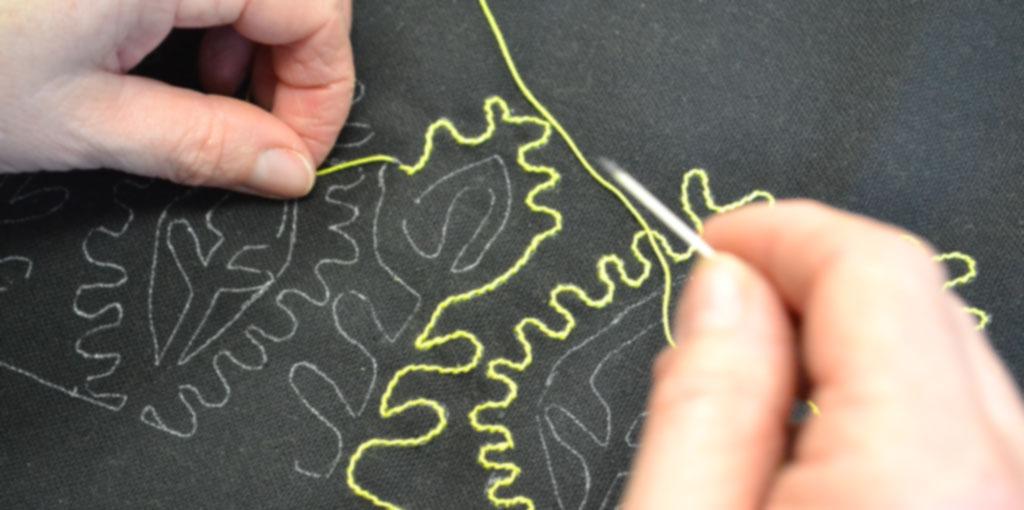 Workshop borduren