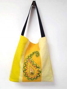 Borduurpakket tas met motief uit Iran