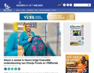 artikel rodi about a jacket krijgt financiele ondersteuning