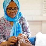 Workshop eritrees borduren bij About a Jacket